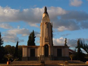 Kimberley | World War 1 memorial in Kimberley