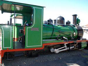 Kimberley | 18 Inch Gauge Locomotive Kimberley Diamond Mine Museum