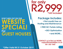 Website Special for Guest Houses | Kimberley Accommodation, Business & Tourism Portal